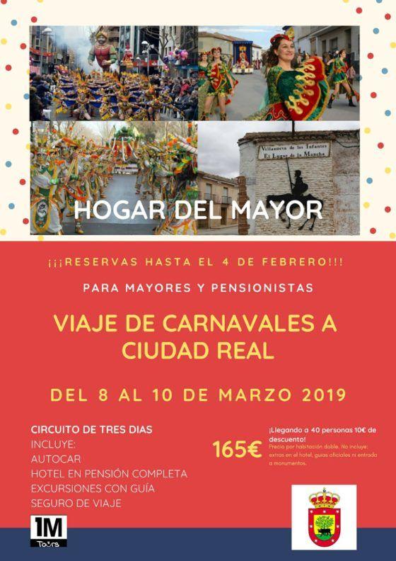 Viaje de Carnavales a Ciudad Real